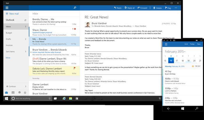 Будущее Office: Office 2016 и Office для Windows 10