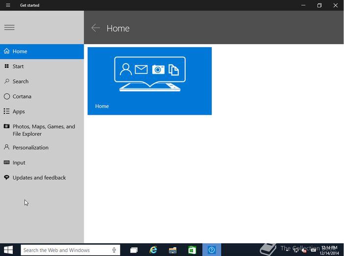 Новые скриншоты Windows 10 build 9901