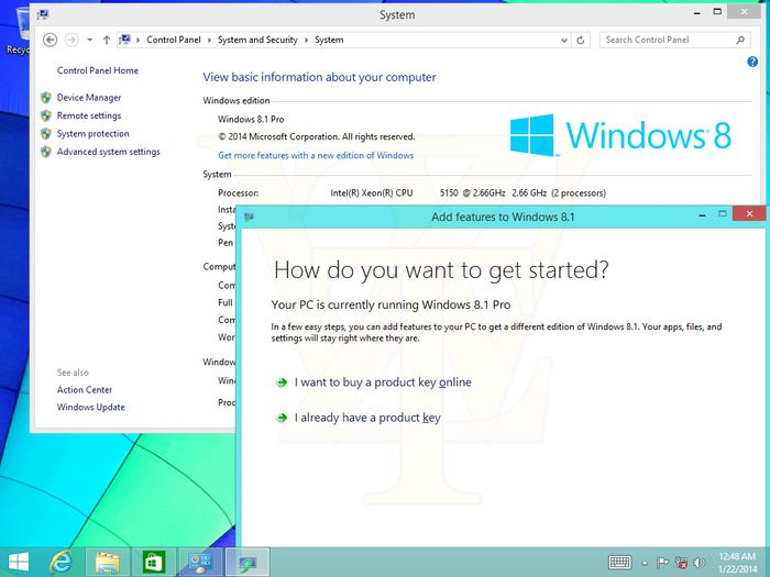 Новые скриншоты Windows 8.1 Update 1