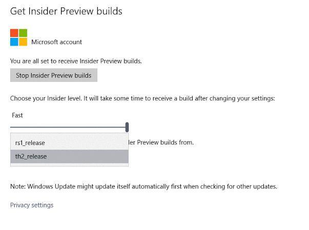 Windows 10: некоторые инсайдеры получили возможность переключиться на ветвь разработки Redstone