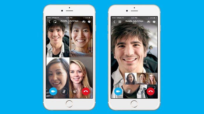 Skype анонсировали групповые видеозвонки для Android, iOS и Windows 10 Mobile