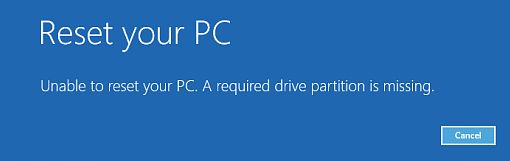 Как исправить ошибку «The boot configuration data file is missing some required information» при загрузке Windows 8.x