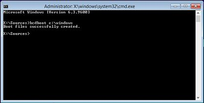 Как исправить ошибку «The boot configuration data file is missing some required information» при загрузке Windows 8.x