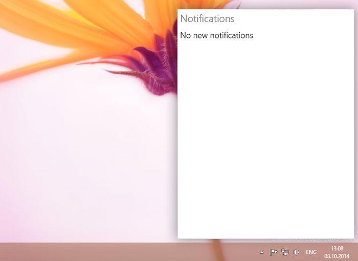 Как активировать центр уведомлений в Windows 10 Technical Preview