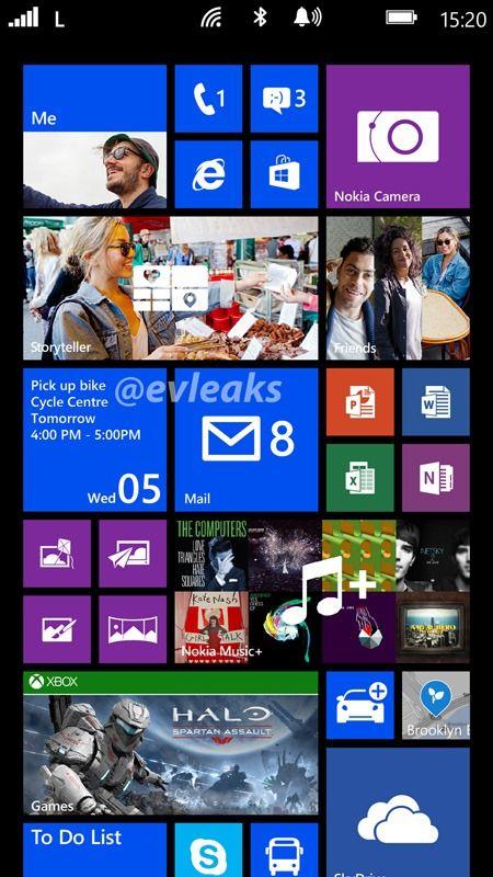 В сеть попал скриншот, демонстрирующий, как будет выглядеть Windows Phone 8 на экранах с разрешением 1080p