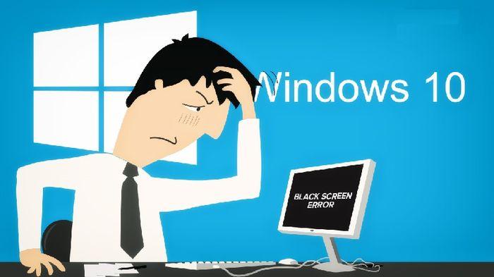 Что можно предпринять, если после входа в Windows 10 появляется черный экран