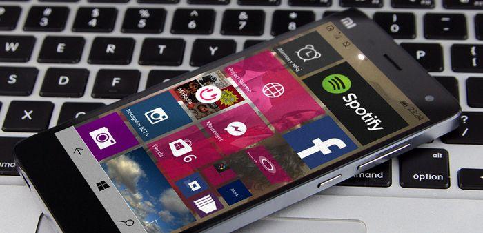 Windows 10 Mobile для Xiaomi Mi4 будет выпущена на следующей неделе