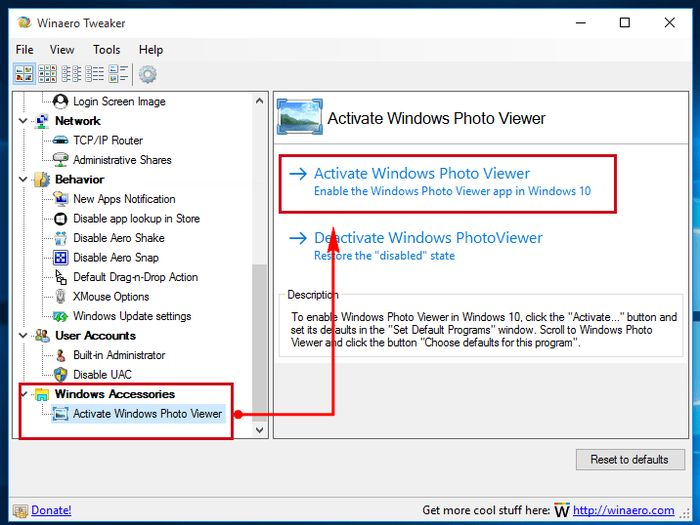 Как сделать просмотр фотографий windows