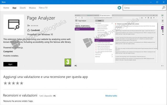 В магазине Windows замечено первое расширение для Microsoft Edge