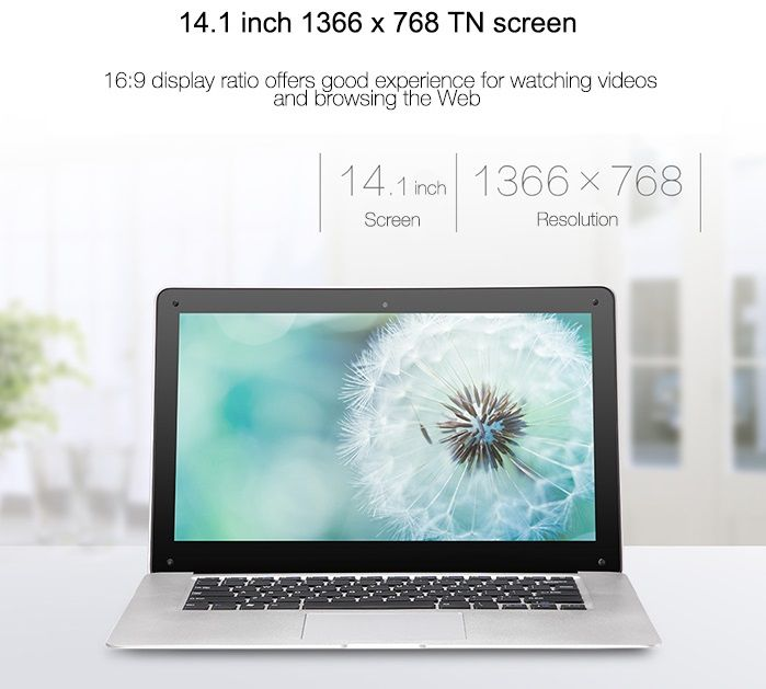 PiPo Work W9s – 14-дюймовый ноутбук с Windows 10 за 230 долларов