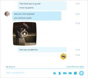 Обновился десктопный клиент Skype для Windows: новый Media Tool и превью URL в чате
