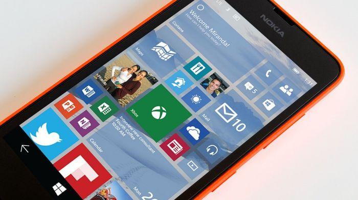 Windows 10 для смартфонов: Microsoft выпустила незначительное обновление