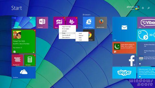Обновление для Windows 8.1 (x86, x64 и ARM) доступно на MSDN