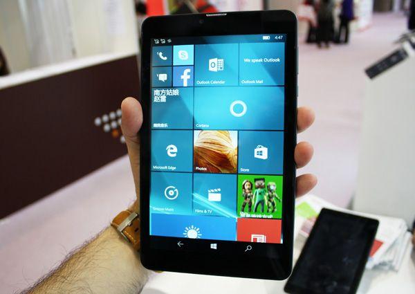Представлены первые планшеты с Windows Mobile 10