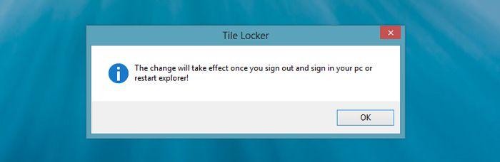 Как запретить любые манипуляции с плитками на начальном экране в Windows 8