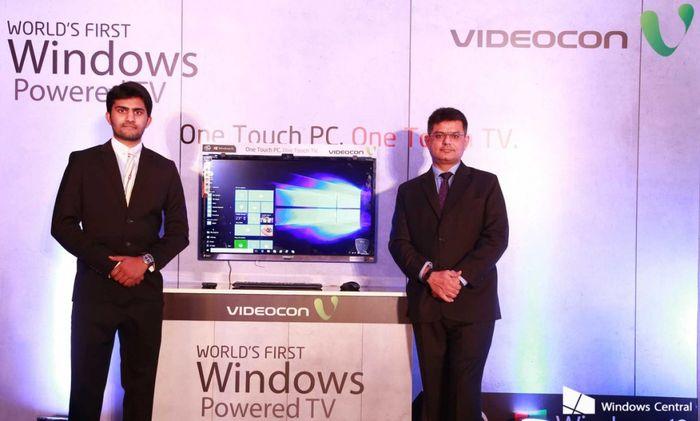 Microsoft и Videocon представили первый телевизор с Windows 10