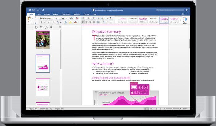 Microsoft выпустила Office 2016 для Mac. Универсальные приложения Office для Windows будут готовы 29 июля