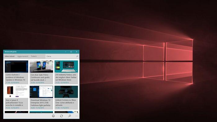 В Windows 10 Redstone Cortana может стать «плавающей»