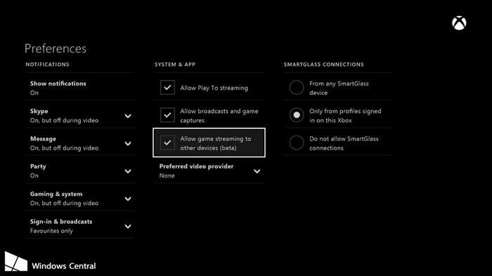 Майское обновление для Xbox One добавит возможность трансляции игр на устройства с Windows 10