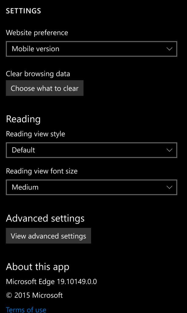 Microsoft выпустила Windows 10 Mobile Build 10149 [Обновлено]
