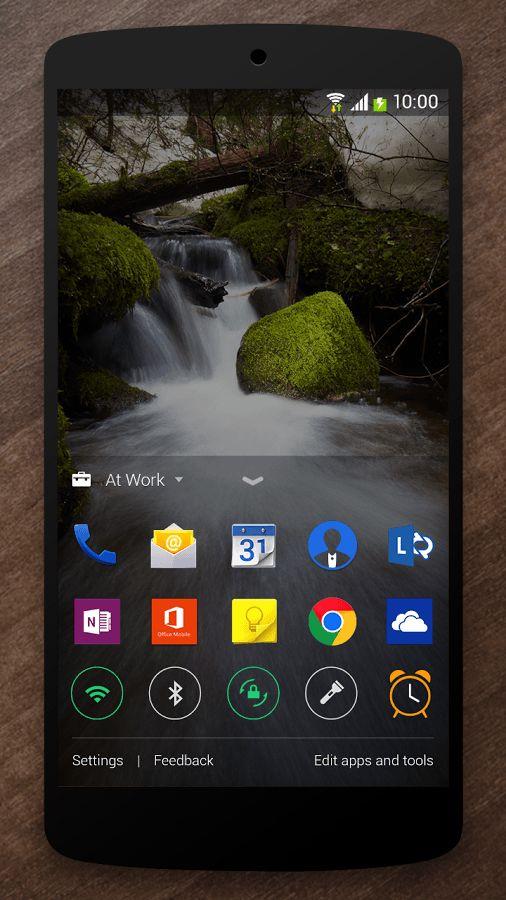 Microsoft обновила приложение Next Lock Screen для Android