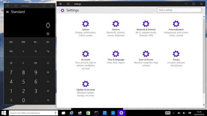 Windows 10 build 9901: Cortana, новый Магазин Windows, обновленные приложения и Lumia Camera
