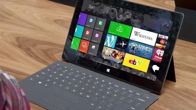 Microsoft Surface с Windows 8 Pro уже выглядывает из-за угла