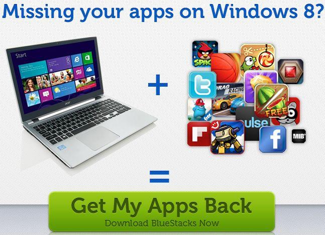 BlueStacks – более 750 000 Android-приложений на Windows 8 и Surface Pro