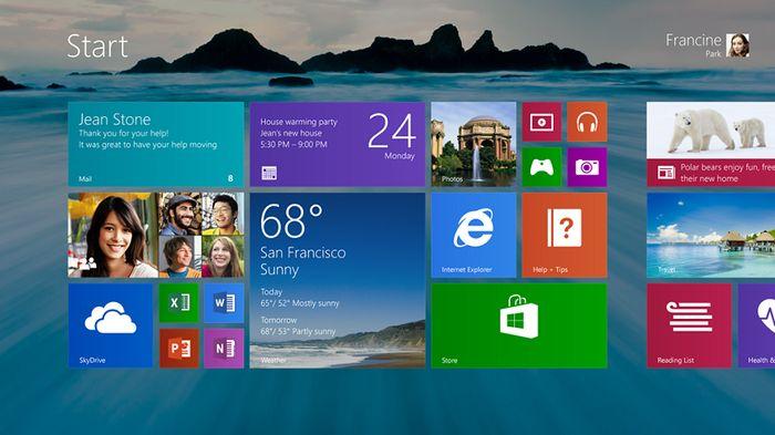 Видео: первый взгляд на Windows 8.1
