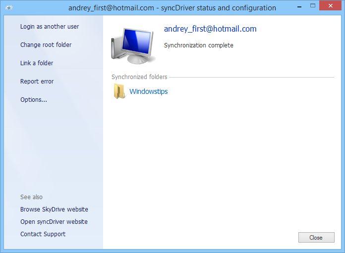 Как использовать OneDrive с локальной учетной записью в Windows 8.1