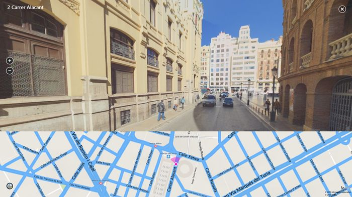 Приложение Bing Maps Preview для Windows 8.1 и RT 8.1