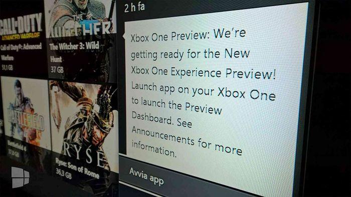 Началась рассылка приглашений на тестирование Windows 10 на Xbox One