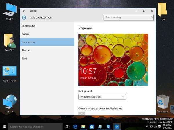 Windows 10 Build 10154: скриншоты + видео [Дополнено]