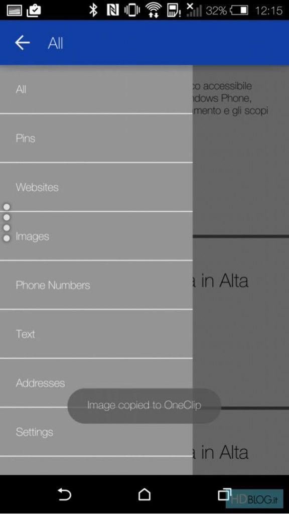 Microsoft OneClip: облачный и мультиплатформенный буфер обмена