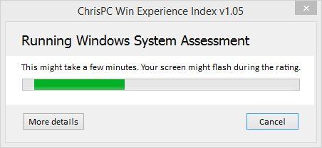 Как вернуть индекс производительности Windows (WEI) в Windows 8.1