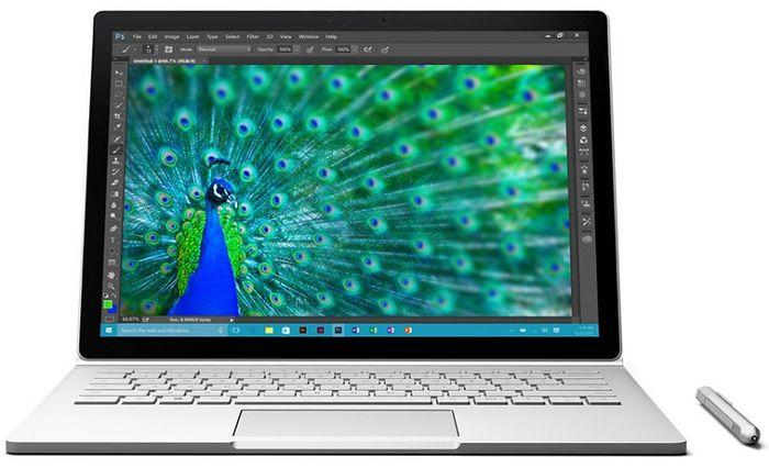 Первый ноутбук от Microsoft называется Surface Book