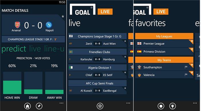 5 приложений для Windows Phone, посвященных Чемпионату мира по футболу в Бразилии