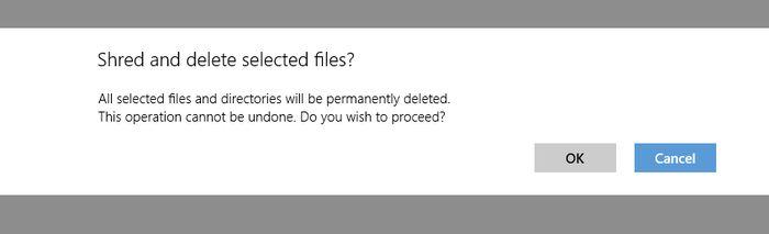 Shredder8 – удаляйте информацию без возможности восстановления на устройствах с Windows 8/RT