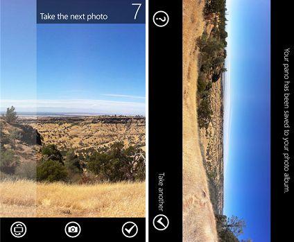 Лучшие приложения для создания панорамных снимков в Windows Phone