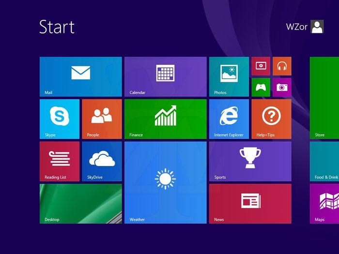 Появились скриншоты Windows 8.1 Update 1
