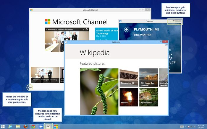 Как получить некоторые особенности из следующего обновления Windows 8.1 прямо сейчас