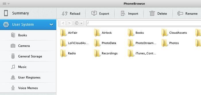 Как просматривать файловую систему устройства с iOS в Windows
