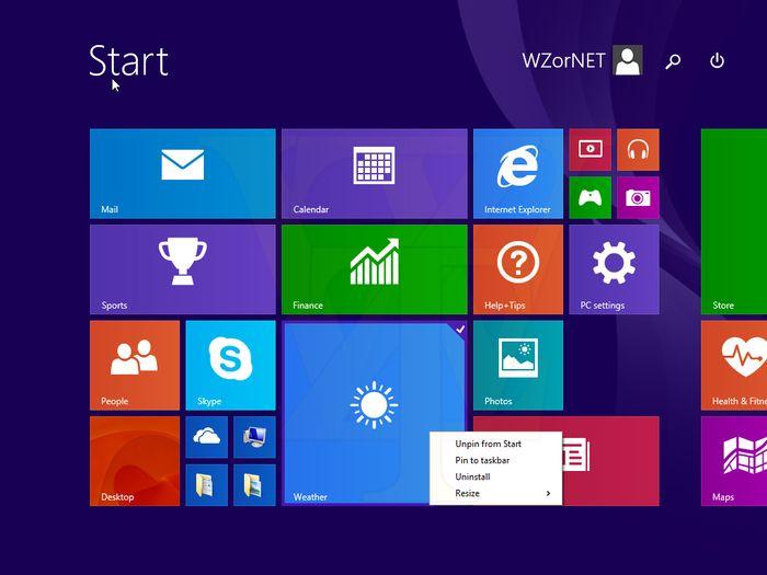 Выключать и перезагружать компьютер c Windows 8.1 Update 1 станет проще