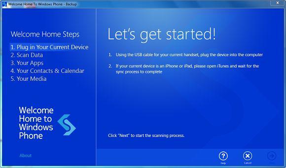 Welcome Home: переносим контакты, приложения и другую информацию на Windows Phone с другой платформы