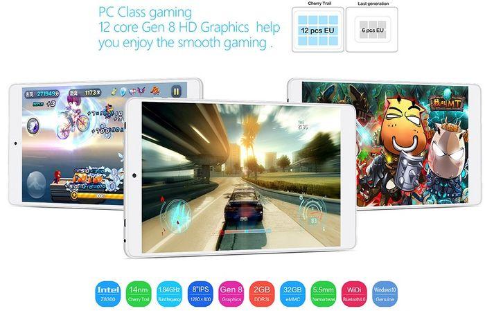 Teclast X80 Plus: Windows 10 и Android 5.1 в одном устройстве