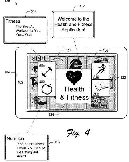Microsoft получила патент на MixView и интерактивные плитки