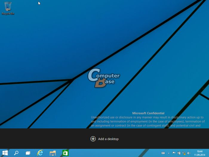 Функция виртуальных рабочих столов в Windows 9 будет называться «многозадачность» и вот как она будет работать