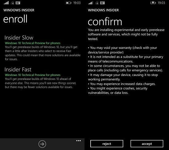 Первая версия Windows 10 Technical Preview для телефонов уже доступна (для 6 моделей Lumia)