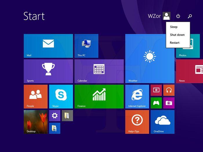 Новые скриншоты Windows 8.1 Update 1: загрузка на рабочий стол будет включена по умолчанию