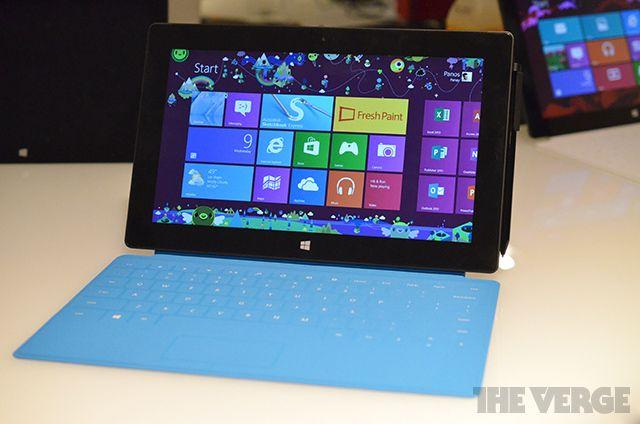 Низкие продажи Surface RT во время праздников